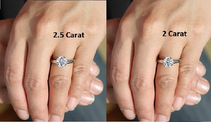 2.5 Carat Engagement Rings