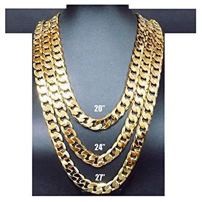 24k Gold Necklace For Men