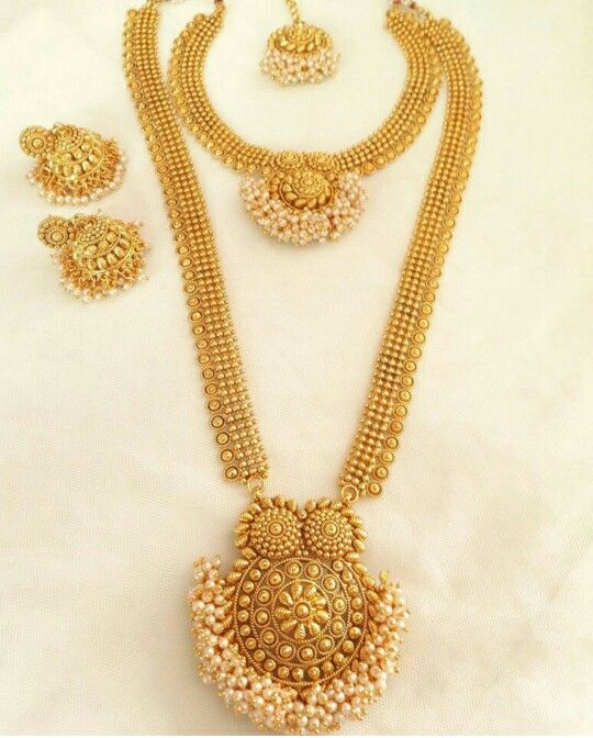 Beautiful Necklace Design In Ethnic India Style