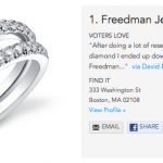BEST Wedding Rings by Freedman Jewelers