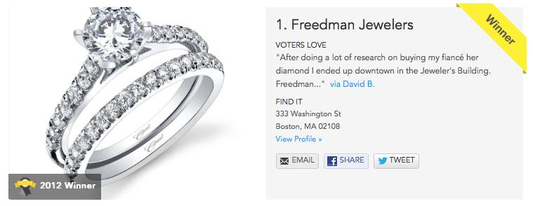 BEST Wedding Rings by Freedman Jewelers