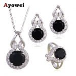 Black Onyx Jewelry Sets