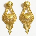 Bridal Gold Earrings Designs