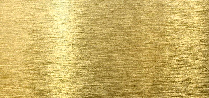 Brushed Metallic Gold Background