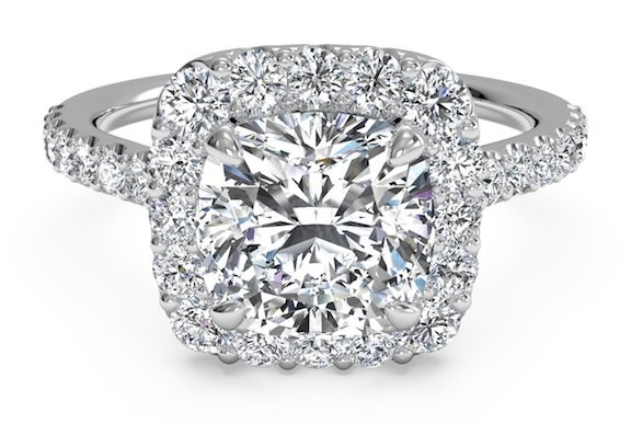 Cushion cuts Engagement Ring Trends 2015