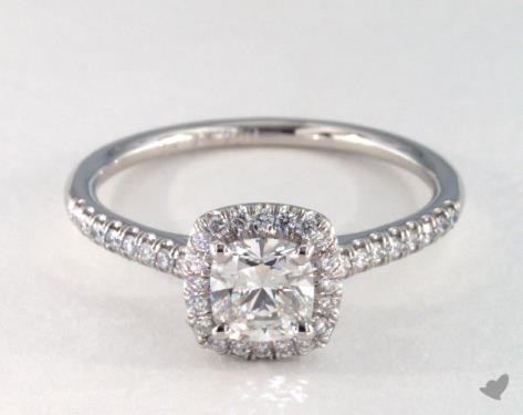 Cushion Engagement Rings