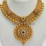 Design gold necklaces wedding