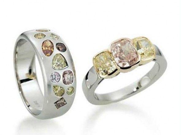 Diamond jewellery design by Hans D. Krieger