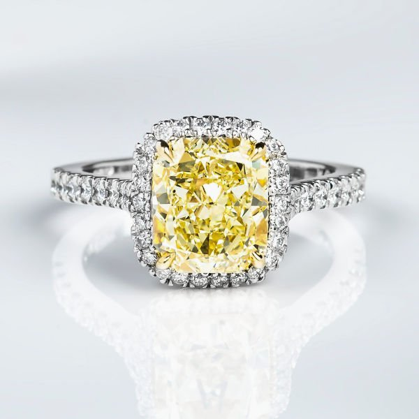 Engagement Rings Yellow