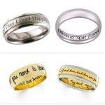 Engraved Wedding Bands 2015