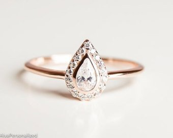 Etsy Engagement Rings