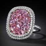 Expensive Purple Diamond Engagement Ring