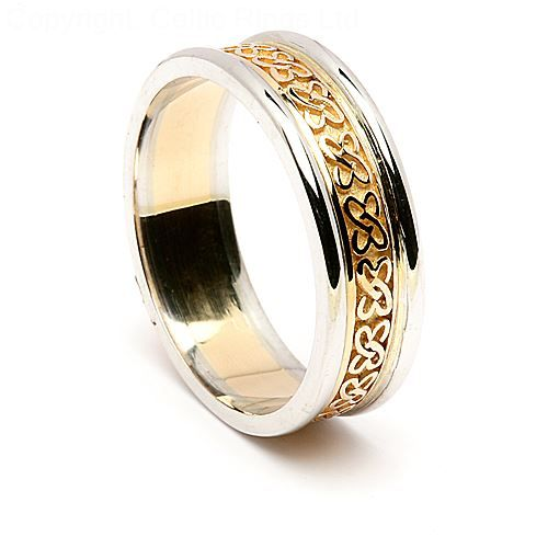 Get To Know More With Amazing yet Elegance Celtic Wedding Ring