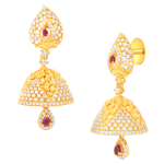 Gold Ear Ring Jhumka