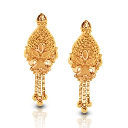 Gold Earring Designs Images