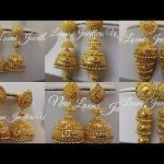 Gold Jhumka New Design