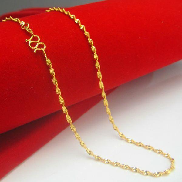 Gold Necklace Design For Female