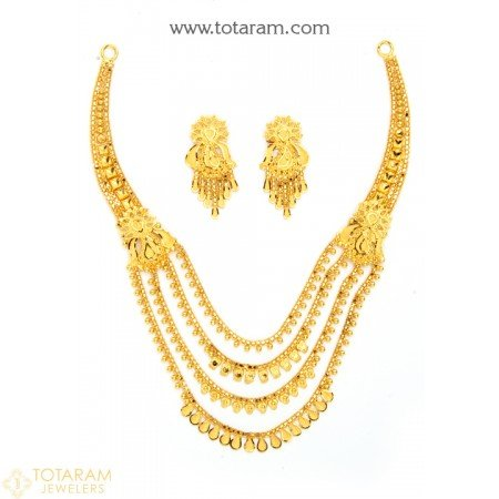 Gold Necklace Designs India