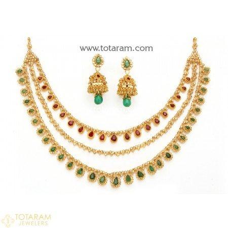 gold uncut diamond jewelry