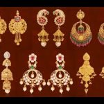 Grt Gold Earrings Designs