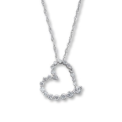 Heart Necklaces From Kay Jewelers