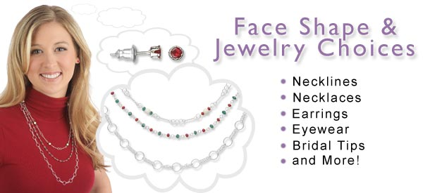 How To Choose Best Necklace Jewelry Design Depend on Your Facial Shape
