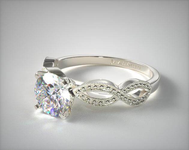 Infinity Engagement Ring