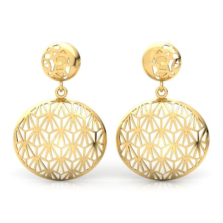 Latest Gold Earrings Design