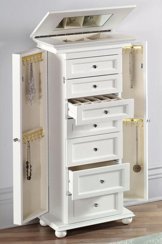 Less Expensive Jewelry Armoire