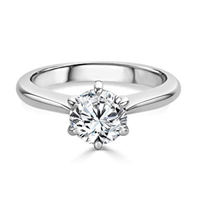 Moissanite Engagement Rings Uk