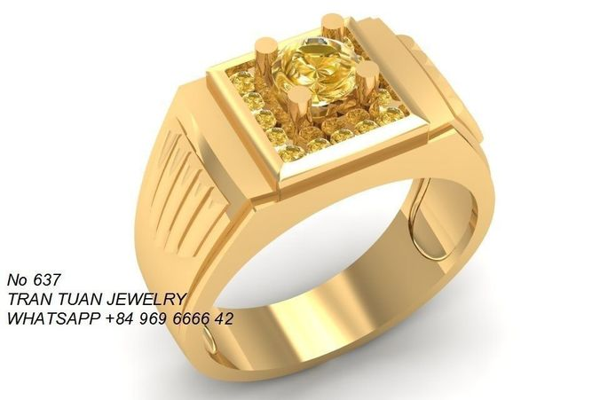 More Gold Ring Model
