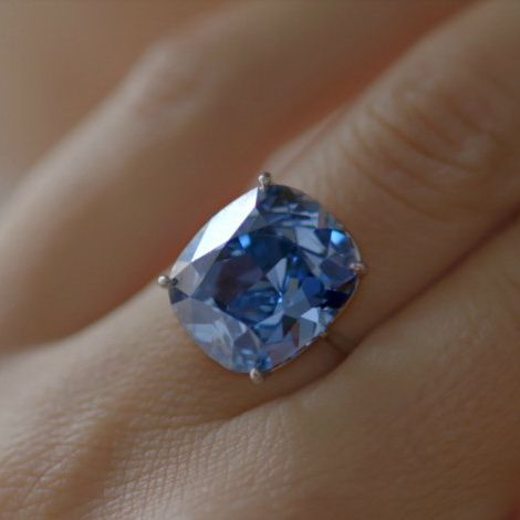 Most Expensive Jewelry Blue Diamond