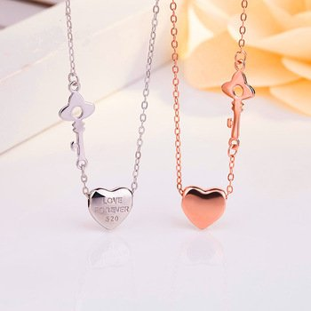 Necklaces design For Girlfriend Engraved