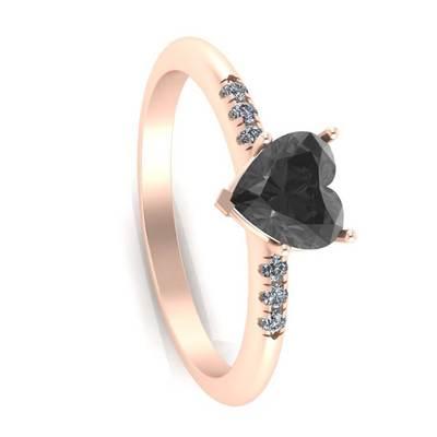 Onyx Engagement Rings