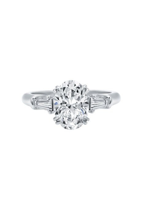 Oval Engagement Rings Harry Winston
