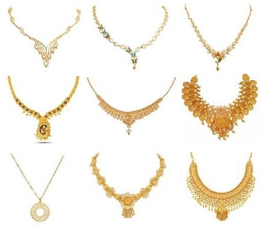 Pictures Of Latest Designs Of Gold Necklaces