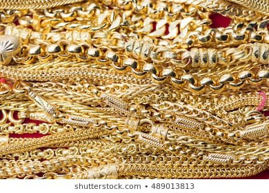 Pile Gold Jewelry Design