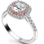 Pink Diamond Engagement Rings Uk