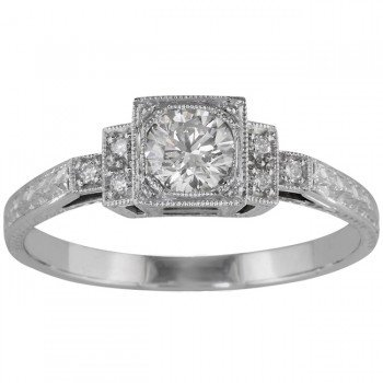 Platinum Engagement Rings Uk