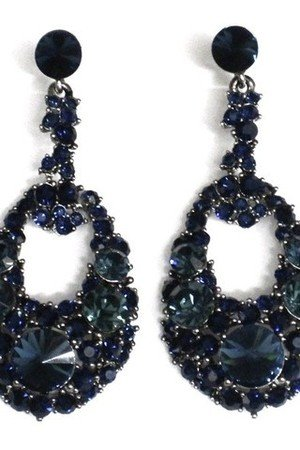 Rich Rocks Crystal Earrings