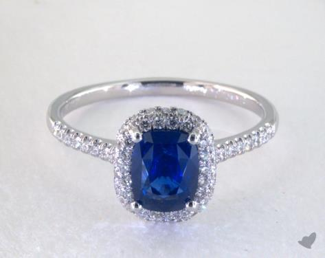 Saphire Engagement Ring