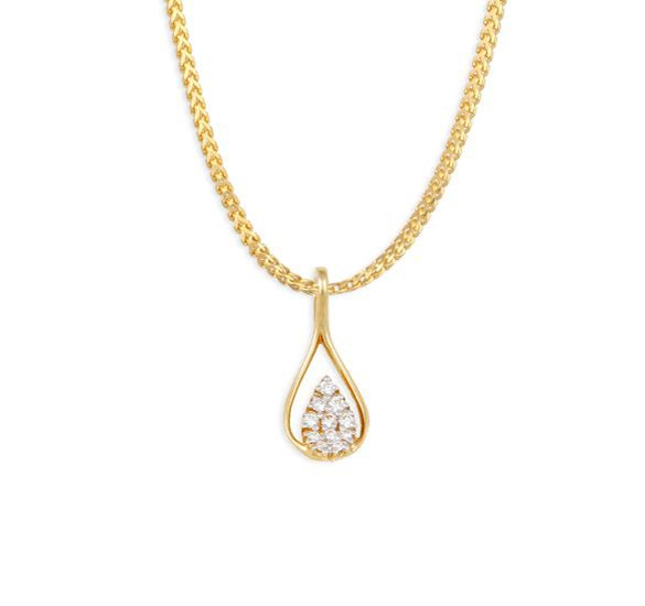 Tanishq Gold Pendant Designs