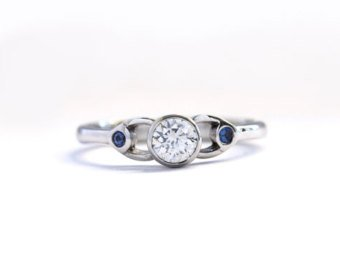 Unique Engagement Rings Uk