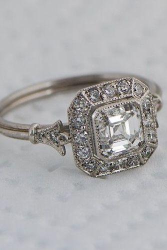 Vintage Antique Engagement Rings