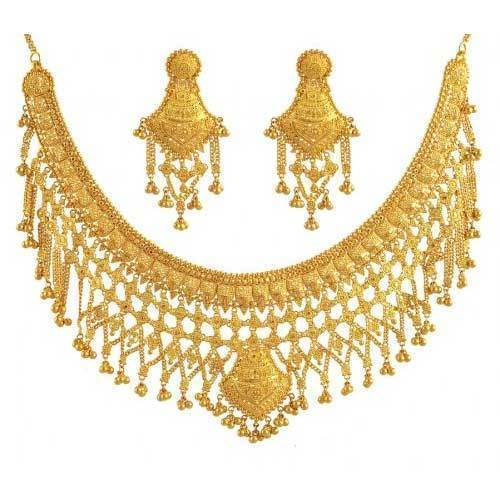 Wedding Gold Necklaces For Indian Brides
