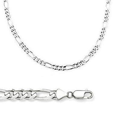 White Gold Figaro Chain