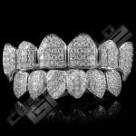 White Gold Grillz