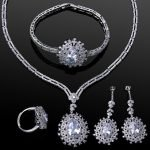 White Gold Jewelry Sets