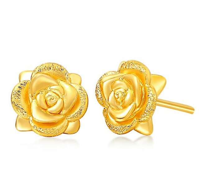 Womens Gold Earrings